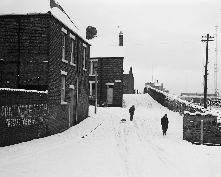 07. Street in Wallsend in winter